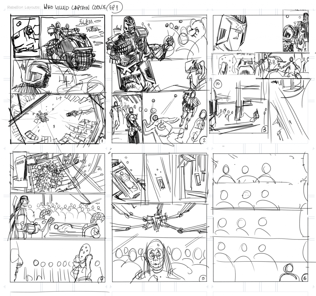 Thumbnails for Who Killed Captain Cookie Episode 1